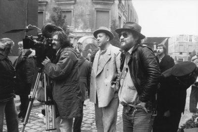Dreharbeiten zu Berlin Alexanderplatz, Regie: Rainer Werner Fassbinder, 1980; © RWFF