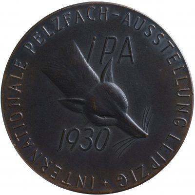 Bruno Eyermann, Internationale Pelzfach-Ausstellung 1930; Universitätsbibliothek Leipzig