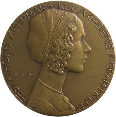 Bruno Eyermann, Medaille zum