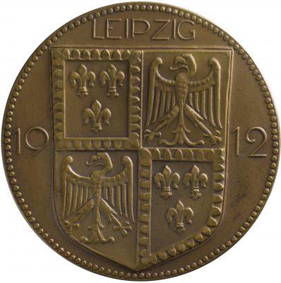 Bruno Eyermann, Rückseite der Medaille zum