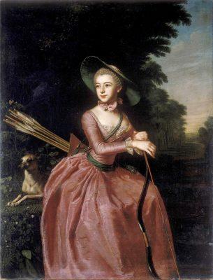Christoph Friedrich Reinhold Lisiewsky, Prinzessin Henriette Catharine Agnese von Anhalt-Dessau, um 1760, 149 x 114 cm; Kunstmuseums der Republik Donezk; © Donetsk Art Museum