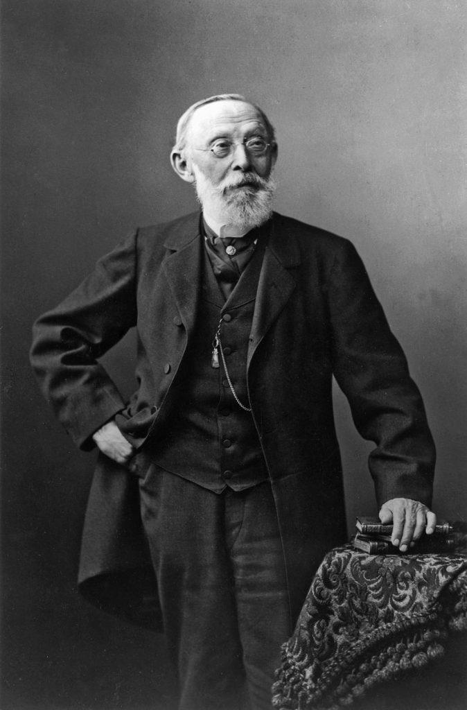 Rudolf Virchow, um 1900; © bpk-Bildagentur / Foto: J. C. Schaarwächter