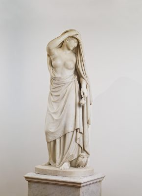 Emil Wolff, Die Nacht, 1830/36, 152 × 64 × 45 cm (ohne Sockel); Christian Daniel Rauch-Museum, Bad Arolsen; © Galerie Neuse