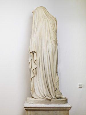 Emil Wolff, Die Nacht (Rückseite), 1830/36, 152 × 64 × 45 cm (ohne Sockel); Christian Daniel Rauch-Museum, Bad Arolsen; © Galerie Neuse