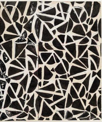Sonia Delaunay, No. 1011, 15,3 × 13,3 cm; Kunstmuseen Krefeld; © Pracusa 2018652