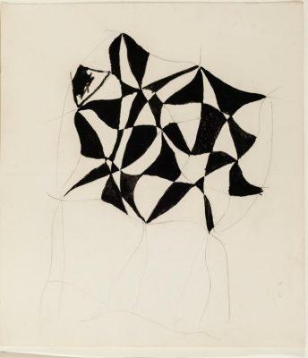 Sonia Delaunay, No. 458, 1925/1933, 22 × 23,8 cm; Kunstmuseen Krefeld; © Pracusa 2018652