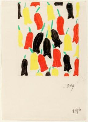 Sonia Delaunay, No. 5009, 26,6 × 21 cm; Kunstmuseen Krefeld; © Pracusa 2018652