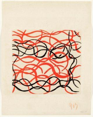 Sonia Delaunay, No. 963, 1925, 27 × 21 cm; Kunstmuseen Krefeld; © Pracusa 2018652