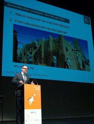 Rede Prof. Dr. Markus Hilgert Weimar Kinder zum Olymp!-Kongress