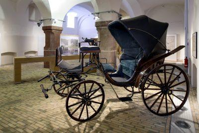 """Blick in die Ausstellung """"fontane.200/Brandenburg. Bilder und Geschichten"""", Haus der Brandenburgisch-Preußischen Geschichte; Potsdam; © Foto: Lorenz Kienzle"""