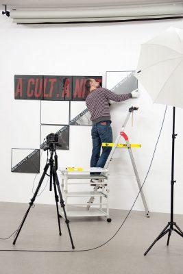 Inventarisierung der Werke von Jochen Gerz; Stiftung Kunstfonds Brauweiler. © VG Bild-Kunst, Bonn 2019