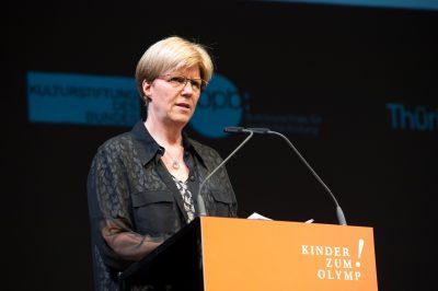 Gabi Ohler, Staatssekretärin Thüringer Ministerium für Bildung, Jugend und Sport, © Foto: Stefan Gloede
