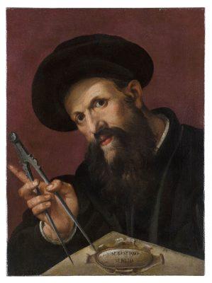 Bartolomeo Passerotti, Sebastiano Serlio, um 1570, 44,5 × 60,0 cm; © Martin von Wagner Museum der Universität Würzburg