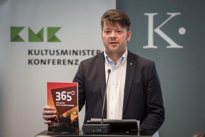 Thomas Zenker, Oberbürgermeister der Stadt Zittau, Präsentation Zittau, Foto: Ralf Rühmeier/KMK