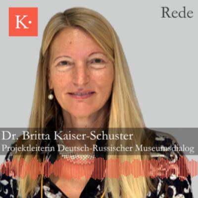 Dr. Britta Kaiser-Schuster spricht über zehn Jahre Zusammenarbeit, Projekte und Erfahrungen im Rahmen des Deutsch-Russischen Bibliotheksdialogs.