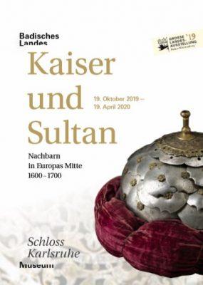Kaiser und Sultan, Plakat zur Ausstellung im Badischen Landesmuseum