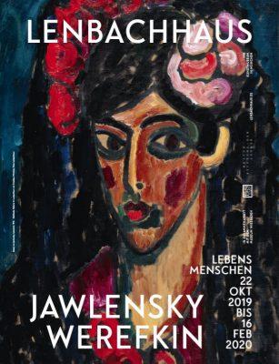 Lebensmenschen. Jawlensky und Werefkin: Plakat zur Ausstellung