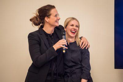 Inga Samii, Melanie Botzki (Leiterinnen Bewerbungsbüro Hannover); © Kulturstiftung der Länder/Ralf Rühmeier