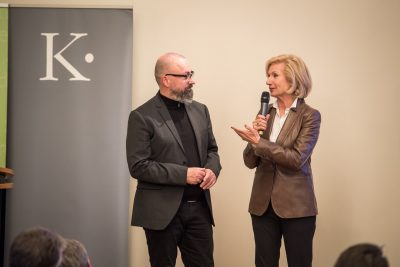Prof. Dr. Hans-Joachim Wagner (Leiter Bewerbungsbüro Nürnberg), Prof. Dr. Julia Lehner (Kulturreferentin der Stadt Nürnberg); © Kulturstiftung der Länder/Ralf Rühmeier