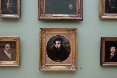Orest Adamovich Kiprensky, Porträt des Poeten Wassili Schukowski, 1815, 64,8 × 58,1 cm; Hängung in der Tretjakow-Galerie Moskau; © State Tretyakov Gallery, 2019