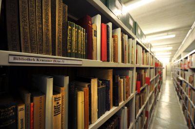 Siegfried Kracauers Bibliothek im Deutschen Literaturarchiv Marbach. © Foto: DLA Marbach