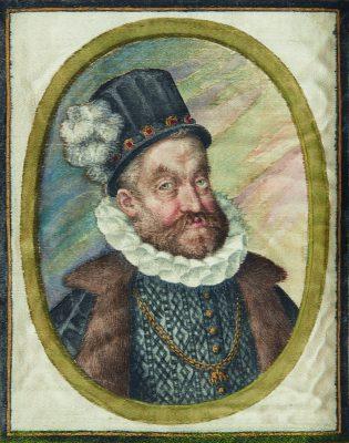 Daniel Fröschl, Portrait Kaiser Rudolfs II.; © HAB Wolfenbüttel