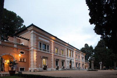 Villa Massimo, das Haupthaus; © Deutsche Akademie Rom