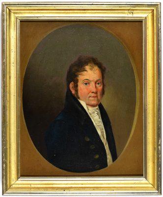 Georg Friedrich Kersting, Porträt des Johann Diederich Damert, 1809, Öl a. Lwd. 34,2 x 27,2 cm;  Museum der Barlachstadt Güstrow, Foto: Uwe Seemann, Güstrow