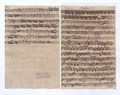 Archiv der Sing-Akademie zu Berlin, Depositum bei der Staatsbibliothek zu Berlin – Preußischer Kulturbesitz, Musikabteilung, SA0608